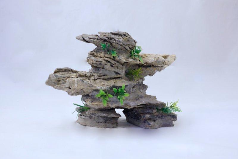 China-Berg, horizontal Höhe: 20-25 cm